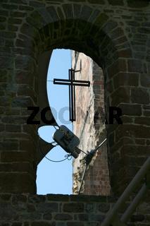 Moderne Technik in alten Mauern