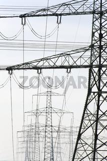 Hochspannungs Strommast