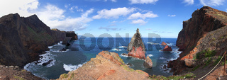 Küstenpanorama Madeira