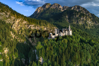 Neuschwanstein Castle Bavarian Alps Germany