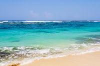 View on Karma beach on Bali, Indonesia