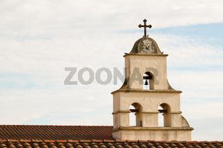 Glockenturm Santa Barbara Mission