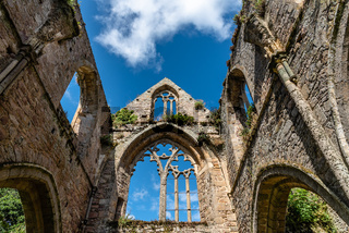 The Abbey of Beauport in French Brittany