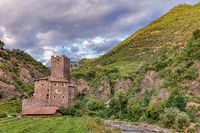 Castle Ried on the Talfer river, Bolzano