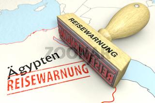 Reisewarnung Ägypten