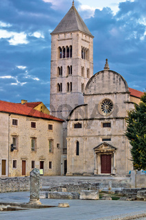 Town of Zadar historic church