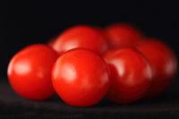 Vine-ripened tomatoes (Solanum lycopersicum)