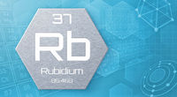 Chemical element of the periodic table - Rubidium