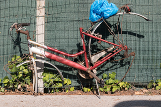 altes Fahrrad ausgeraubt - kurioser Diebstahl