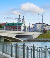 Svisloch river, Old Town, Minsk