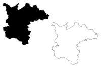 Ergli Municipality (Republic of Latvia, Administrative divisions of Latvia, Municipalities and their territorial units) map vector illustration, scribble sketch Ergli map