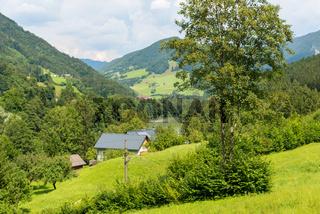 Bauernhof im Oberösterreichischen Ennstal bei Großraming