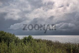 Wolken ueber dem Mueritz-Nationalpark
