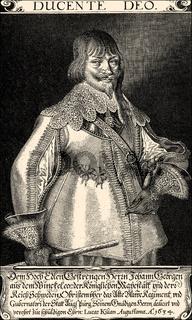 Johann Georg Aus dem Winckel or Winkel, 1596-1639, a council of war