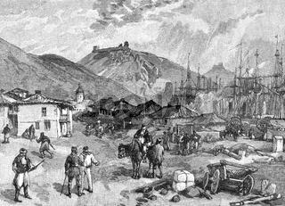After the Battle of Balaclava, 25 October 1854, Crimean War