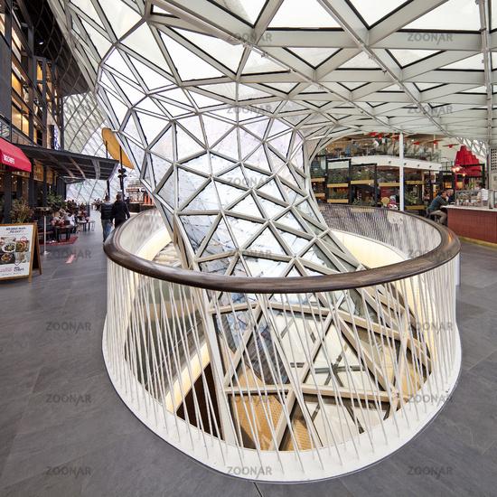 Galerie My Zeil, shopping center, architect Massimiliano Fuksas, Frankfurt, Germany, Europe