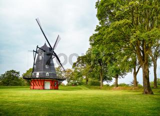 The windmill at Kastellet in Copenhagen.