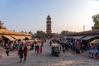 Clock Tower at Sardar Market in Jodhpur, India