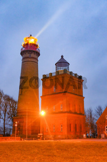Lighthouse at the north tip of island Ruegen, Germany