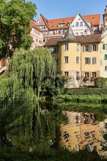 Hölderlinturm am Necker, Tübingen, Deutschland