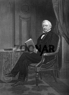 Millard Fillmore, 1800 - 1874, the 13th President of the United States