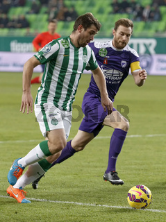 Ferencvaros vs. Kecskemet OTP Bank League football match