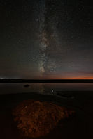 The Night Sky at a Northern California Beach