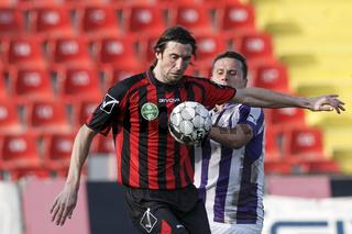 Budapest Honved vs. Ujpest FC OTP Bank League football match