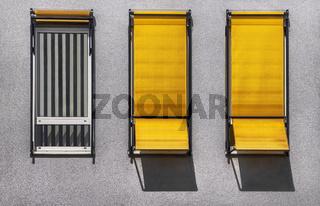 Drei Fenster '2 + 1'