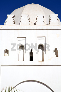 muslim the history  symbol  in morocco   and  blue    sky