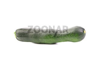 Zucchini isolated on a white background.