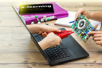 Interaction between teacher and student in online learning in the field of electrical engineering