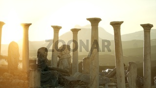 8K ancient Greek temple in Italy