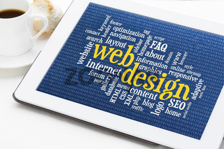 web design word cloud