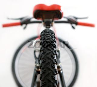 tire of mountain bike