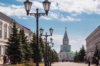 Spasskaya tower of the Kazan Kremlin, Republic of Tatarstan