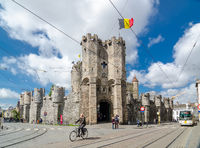 The Gravensteen is a castle in Ghent