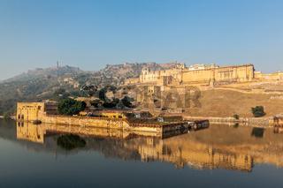 Famous Rajasthan landmark - Amer (Amber) fort