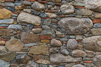 Stones wall background