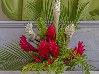 Church Flower Arrangement St. George's Grenada