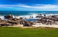 Coastline and stones