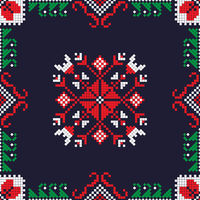 Romanian traditional pattern 191