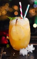 Festive cocktail