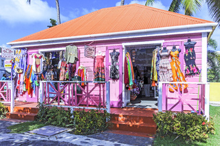 Colourful Clothing Shop Road Town Tortola