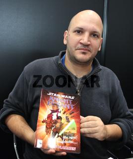 Star Wars-Zeichner Federico Dallocchio auf der Leipziger Buchmesse 2014