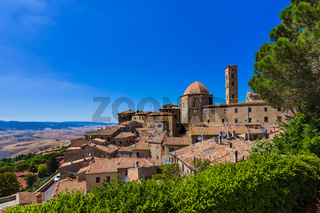 Volterra medieval town in Tuscany Italy