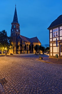 Johanneskirche am Slueterplatz, Doemitz