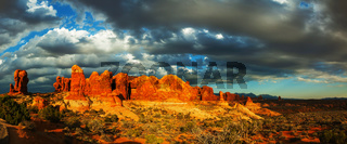 Scenic view at the Arches National Park, Utah, USA