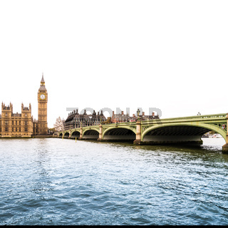 River Thames with Big Ben