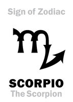 Astrology: Sign of Zodiac SCORPIO (The Scorpion)